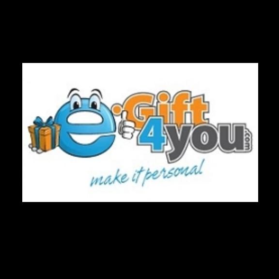 Korting bij E-gift4you.com