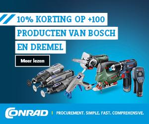 10% korting op Voltcraft, Toolcraft & Renkforce