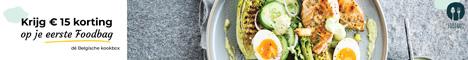 Algemeen - 15€ korting op eerste Foodbag
