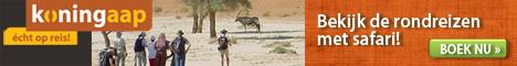 Koningaap - Safarireizen