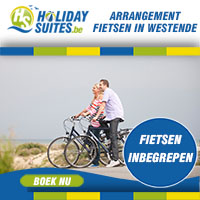 Verblijf in Holiday Suites Westende en verken het mooie Westende en omstreken per fiets. Boek ons fietsarrangement en maak met het hele gezin gebruik van onze fietsen gedurende je verblijf.