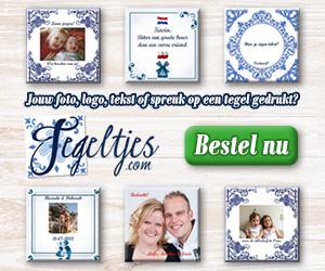 gepersonaliseerde tegeltjes met tekst, foto of spreuk bij Tegeltjes.com