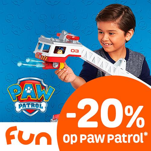 20% Korting op Paw Patrol