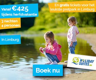 Holidaysuites.be – Verblijf vanaf 5 nachten = gratis ticket Plopsaland De Panne