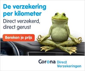 Corona Direct: De kilometer verzekering, bespaar NU tot 50%
