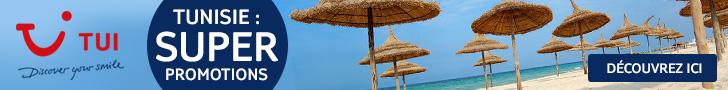 TUI.be - Tunisie Super Promotions