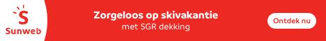 Sunweb Ski – €25 korting per persoon op alle wintersportvakanties