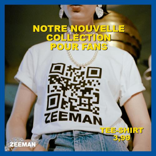 Zeeman: Notre nouvelle collection pour fans