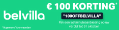 Kredietkorting van 100 Euro (BENL) (06/10 - 31/10)