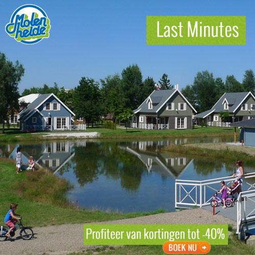 Last Minutes op bungalowpark Molenheide