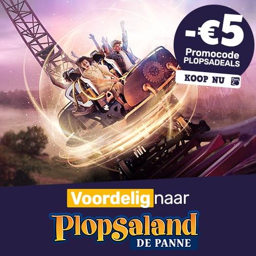 Plopsa.be NL - 3 + 1 Plopsa-FunCard actie