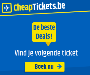 Zoek de goedkoopste vliegtickets bij Cheaptickets.be!