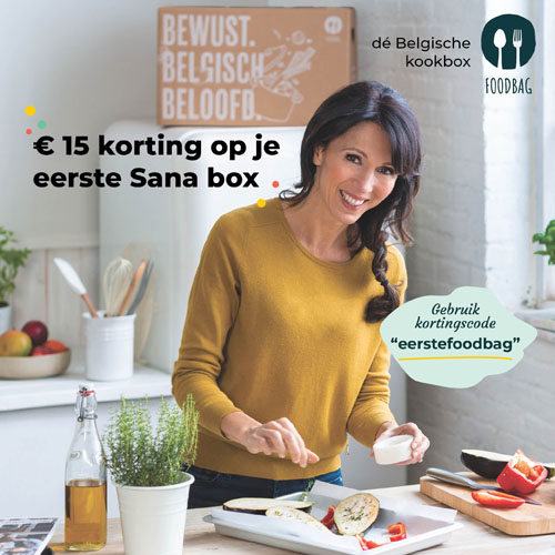 Sana box - Kortingscode eerstefoodbag