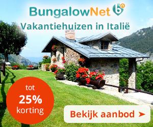 banner 300x250 Vakantiehuizen in Italie