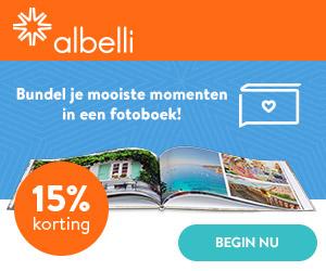 Maak zelf je fotoboek met Albelli