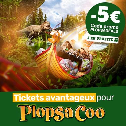 €10 korting op Plopsa Coo