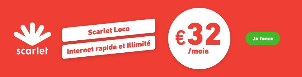 Scarlet internet: Loco (BEFR)