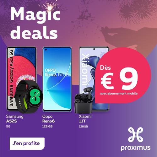 Proximus.be - Tuttimus EOY (12/11/2018 - 31/12/2018)