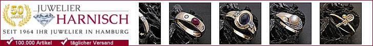 Juwelier Harnisch - Ihr Onlinejuwelier mit über 50.000 Artikeln