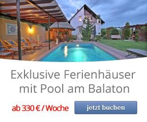 Exklusive Ferienhäuser am Balaton