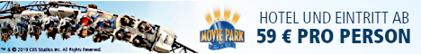 Movie Park Holidays - Hotel + Eintritt ab 55 € pro Person!