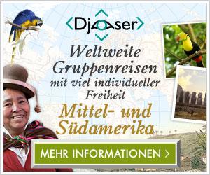 Djoser - Weltweite Gruppenreisen