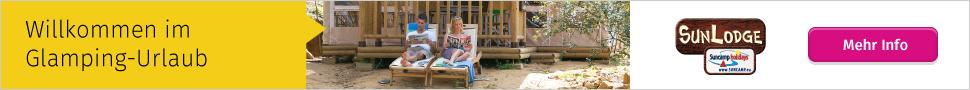 Glamping-Urlaub mit Suncamp holidays