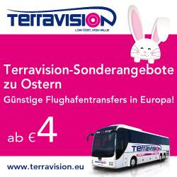 Terravision-Sonderangebote zu Ostern