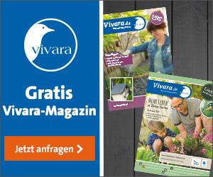 Vivara Magazin bestellen - mehr Natur im Garten