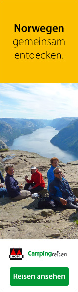 Campingreisen nach Norwegen