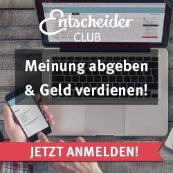 Entscheiderclub - Jetzt anmelden!
