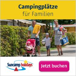 Campingplätze für Familien bei Suncamp holidays