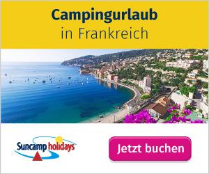 Urlaub auf dem Campingplatz in Frankreich