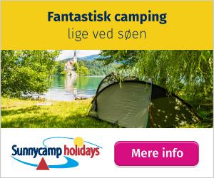 Campingpladser ved havet