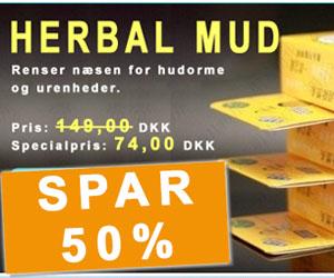herbal mud