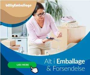 Banner BilligEmballage.dk