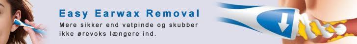 EASY EARWAX REMOVAL - RENS ØRE PÅ EN NEM MÅDE