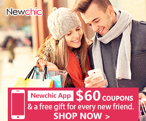 Newchic App New Customer Get $60 Coupons & a free gift