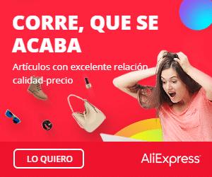 8.00€ de descuento en AliExpress Plaza.