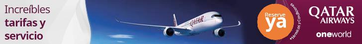 comprar billetes baratos de Qatar Airways