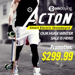 Xiaomi ACTON Smart Electric Skateboard Sale