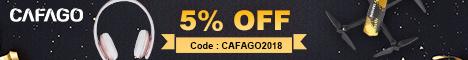 5% de descuento para todos los productos en cafago.com