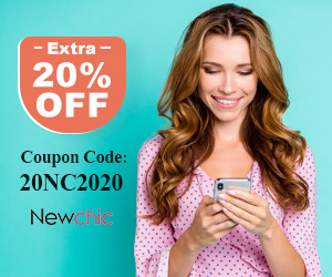 20% Off on Newchic affiliate coupon banner