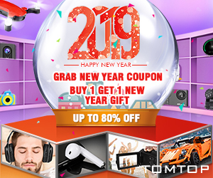 TOMTOP : new year special deals