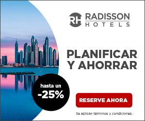 hasta el 30% de descuento en los hoteles Radisson Blu