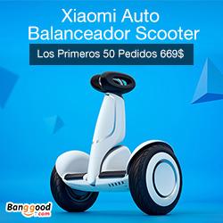 XiaoMi Auto balanceador Scooter Los Primeros 50 Pedidos 669$