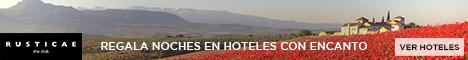 Tarjetas Regalo Hoteles Rusticae