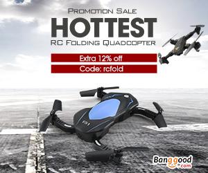 12% de Descuento para RC Quadcopter plegable