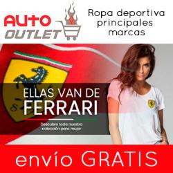 Ropa, complementos y accesorios originales Ferrari, Puma, Sparco, Disney, Hello Kitty, y muchos más.