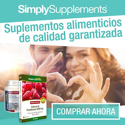 5€ MENOS y envío GRATIS con Simply Supplements España